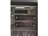 SAMSON 600W 6 WAY STAGE AMP