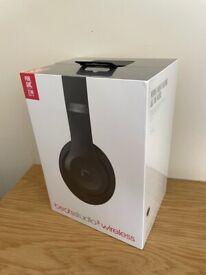 Beats Studio 3 Wireless Over Ear Headphones - Matt Black **BRAND NEW & SEALED**