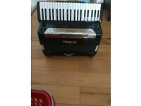 Accordion Roland FR8X NEW not used