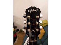 Epiphone SG special, black electric guitar