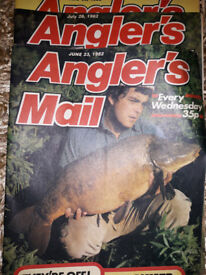 Anglers Mail Fishing Magazines (1982 (24) 1983 (5) 1984 (1)