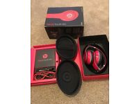 Red dre beats - amazing condition only been used 3/4 times