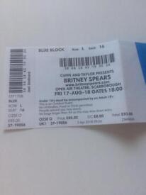 Britney Spears ticket