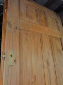 3X SOLID PINE DOORS