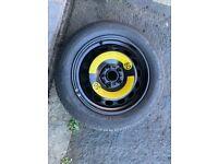 Spare / Space saver wheel & tyre