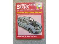 Vauxhall Zafira Haynes Car Manual