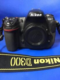 Nikon d300 with 18-55mm lens