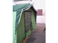 Free Standing Vintage Awning for Volkswagon Caravanette(would possible fit other makes)