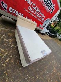Double divan bed and headboard 4 drawers really good condition £120