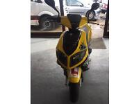 "2013 Pulse Rhythm 50cc moped ""HURRICANE CAR & MOTORCYCLES"""