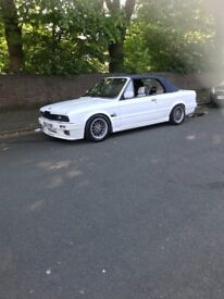 Bmw E30 320i convertible *low miles* 86k hpi clear