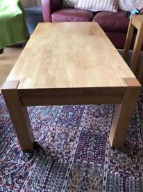 Coffee table and nest of tables