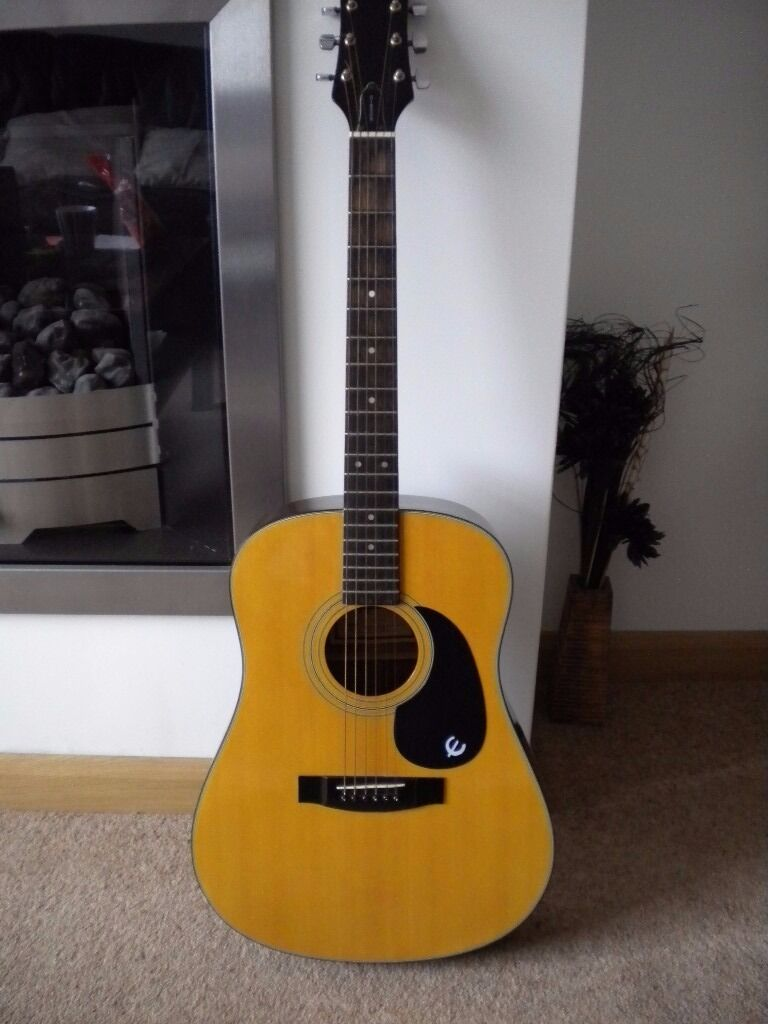 epiphone gibson acoustic guitar in lostock hall lancashire gumtree. Black Bedroom Furniture Sets. Home Design Ideas