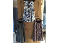 Size 12 skater dresses (£15 for all 3)
