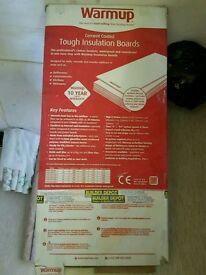 Warmup insulation board