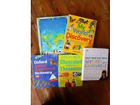 Children's ATLAS, DICTIONARY, THESAURUS