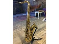 Tenor Saxaphone with travel case