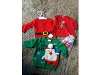Christmas baby newborn clothes new