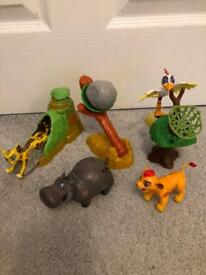Disney lion guard character playsets