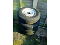 Vw t25 steel wheels