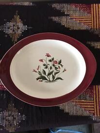 Wedgwood large china plate, Barlaston.