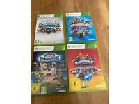 4 Xbox skylanders games