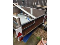 Trailer for sale. Unfinish project