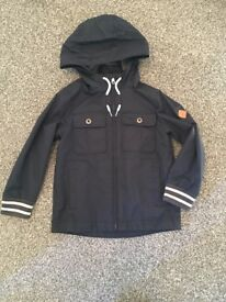 Timberland boys navy jacket age 8