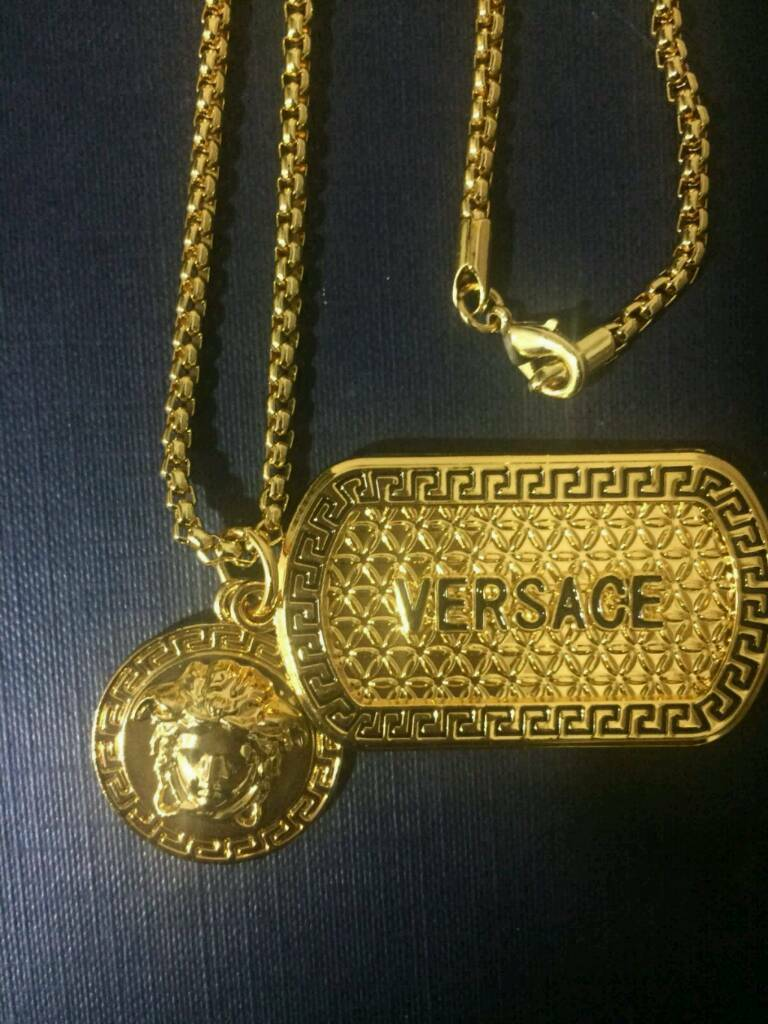 Mens Versace Chain