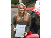 Bourne to Drive female instructor
