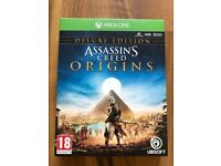 Assassins creed origins deluxe edition , Xbox one ! Price stands , no offers !