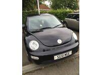 VW Beetle 2001 1.6 Petrol 2001 51plate