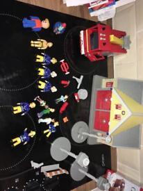 Fireman Sam set/figures