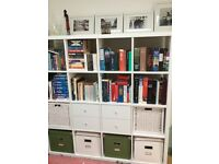Ikea Kallax white bookcase