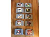 N64 games !