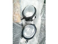 New Spotlights for a Rover MG TF. Osram. Fog lamp pair. ZR ZS MGZR MGZS 75 25 45