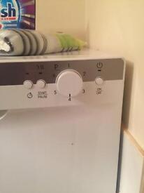 Indesit worktop dishwasher hardly used