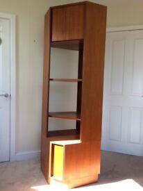 Genuine Vintage 1960's Teak G-Plan Corner / Display Unit / Bookcase
