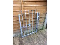 new galvanised steel garden gate £25 ready to fit