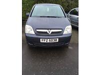 2010 Vauxhall meriva £1650
