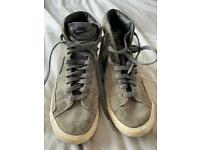 Nike high top style trainers size 4 adults