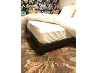 Free bed (with or without mattress)
