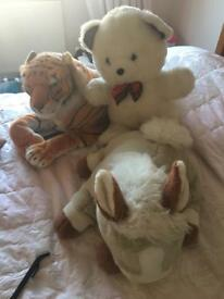 Three Large Cuddly Toys