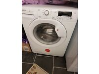 Washing machine and condenser tumble dryer