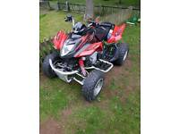 Road legal quad artic cat kymco mongoose 300 cc