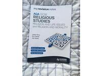 Religious studies revision textbook AQA GCSE