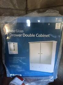 Bathroom cabinet x3 drawer
