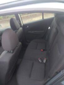 Nissan Almera 5 door hatchback 1.5 cc petrol . Mot d new battery used daily .Drive away