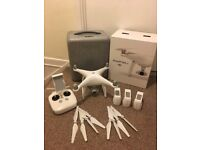 DJI Phantom 4 - Good As New, Extra Batteries and Propellers!