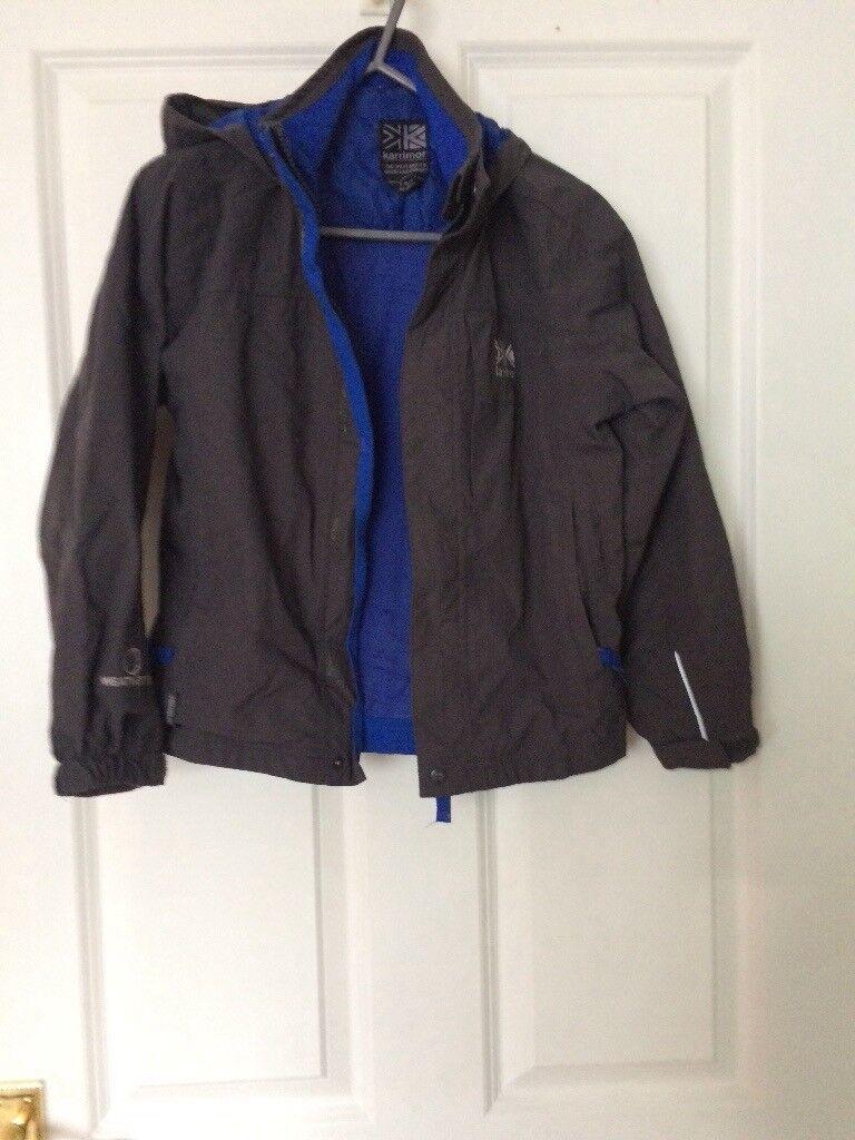 Grey/blue child's coat size 7-8